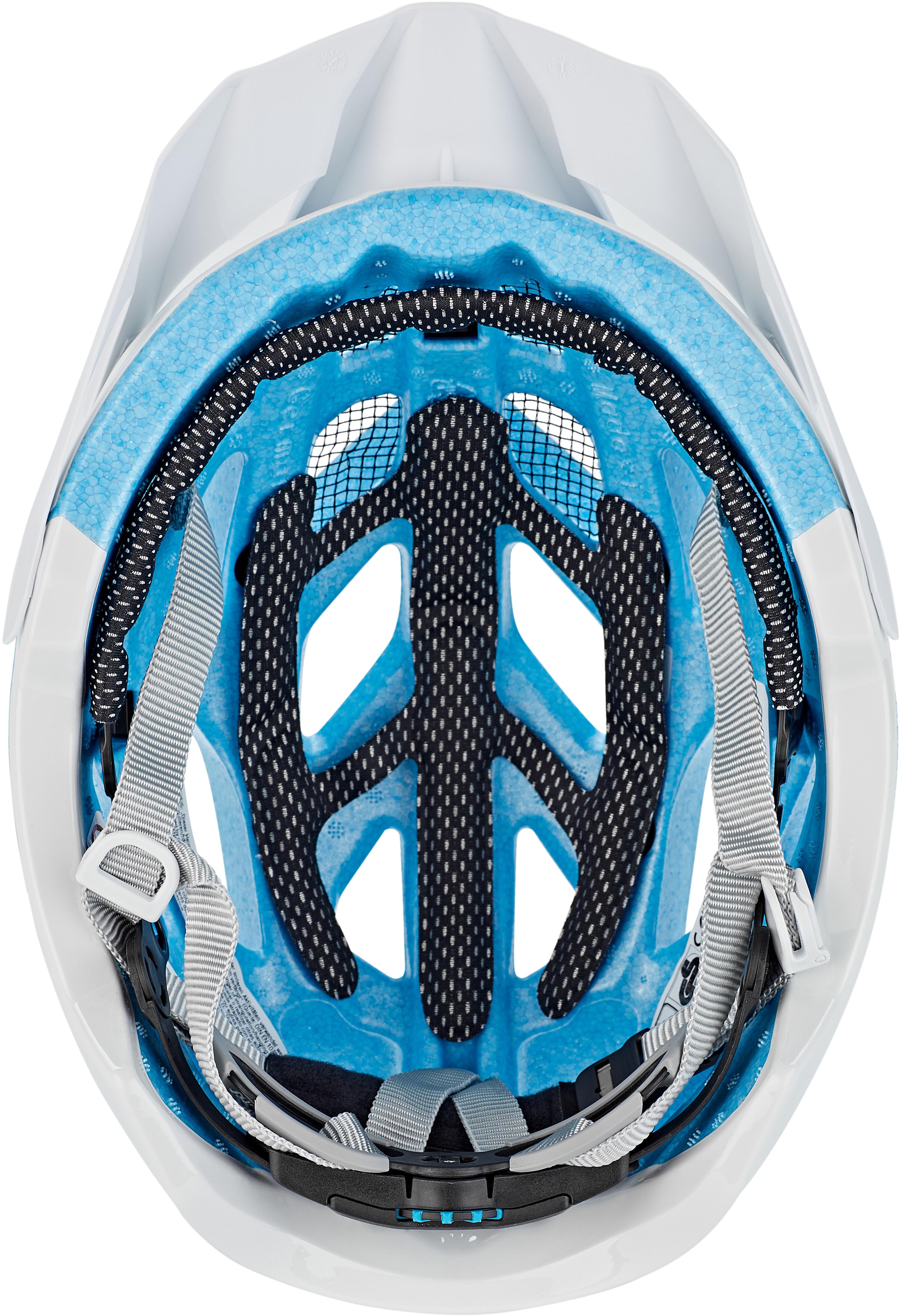 alpina mythos 3 0 l e casco white blue su bikester. Black Bedroom Furniture Sets. Home Design Ideas